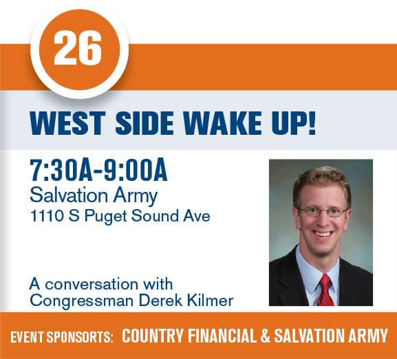 West Side Wake Up!