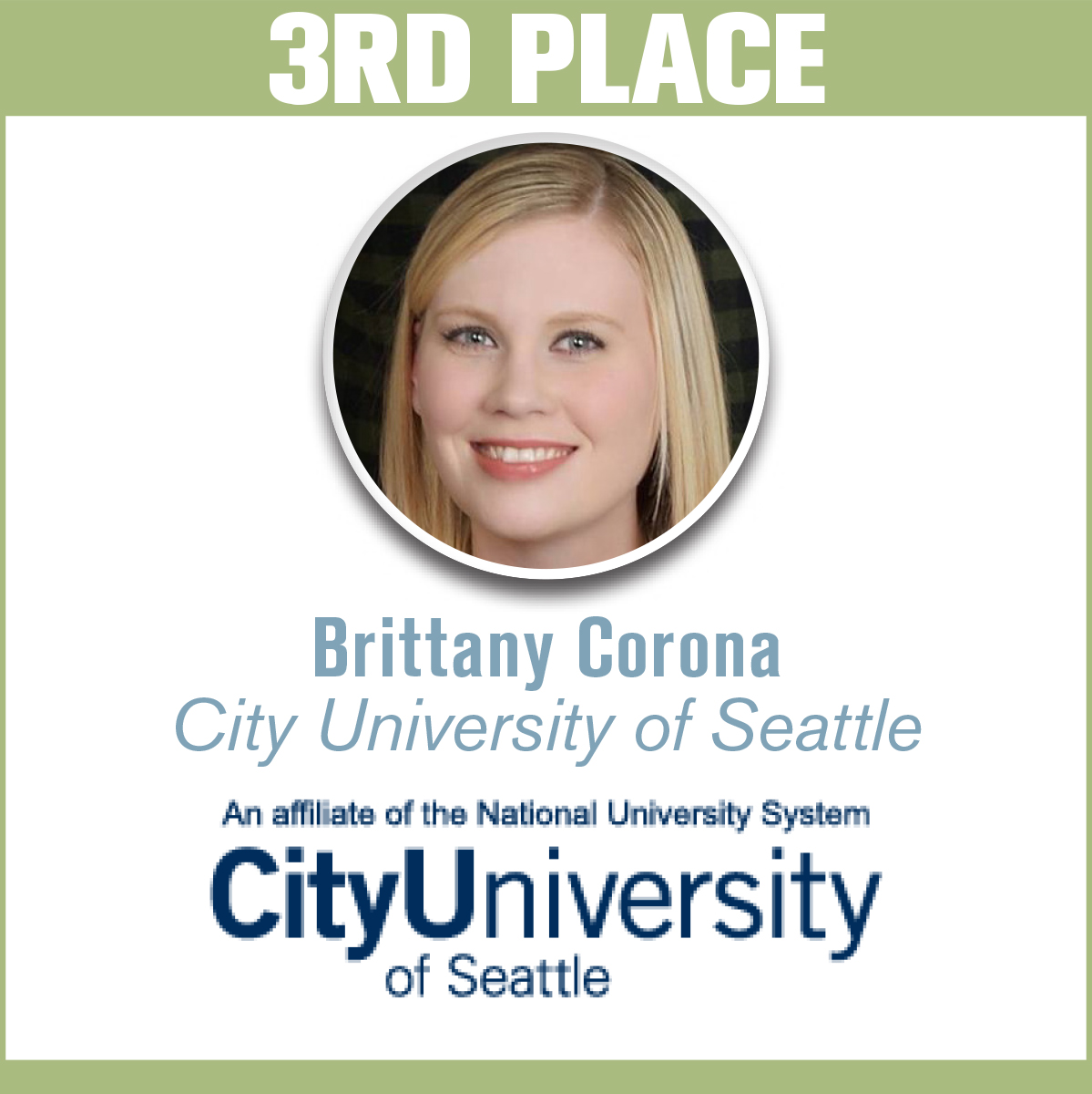 Brittany Corona City University of Seattle
