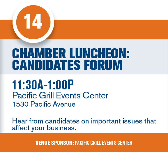 Chamber Luncheon: Candidates Forum