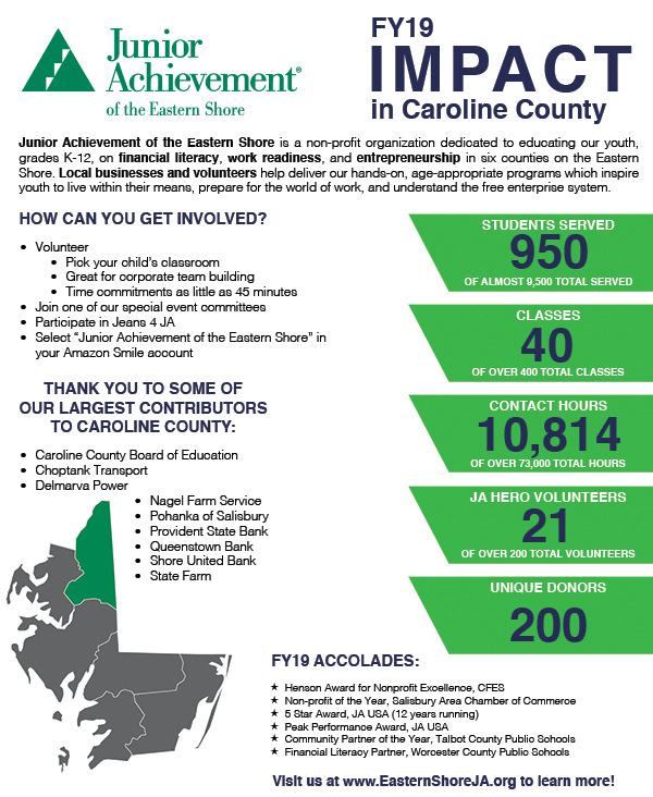 Caroline County FY2019 Impact Report