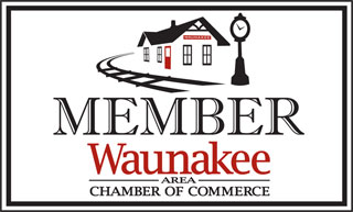 Waunakee Area Chamber of Commerce member decal