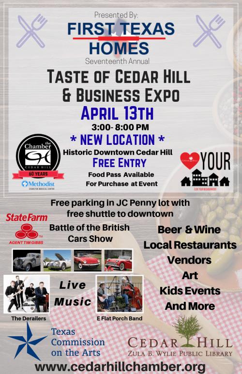 2019 Taste Of Cedar Hill