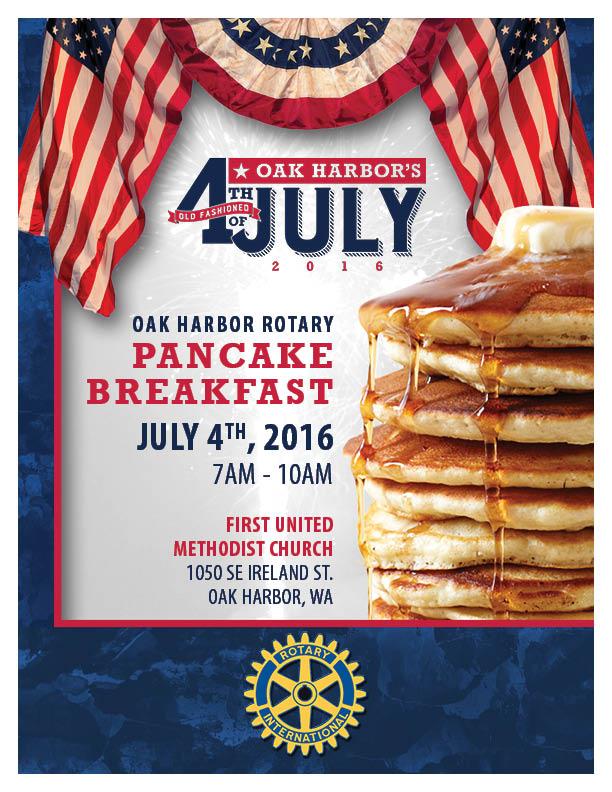 4th of July Rotary Pancake Breakfast