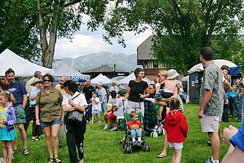 Whitefish Art Festival - Photo by Jill Courtney