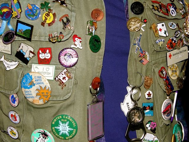 Ambassador Lapel Pin Collection - Photo by Bill Milner