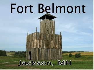 picture of Ft belmont tower color.jpg; #jacksonmn