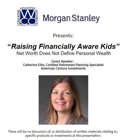 Raising Financially Aware Kids (Presented by Morgan Stanley