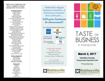 Taste of Business 2017 Exhibitors