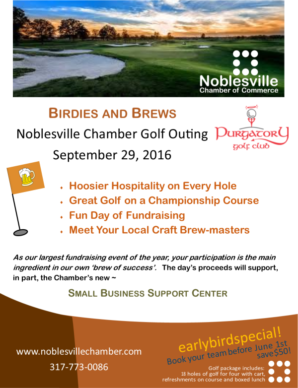 Birdies and Brews Golf Outing