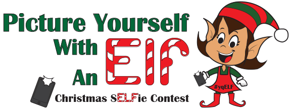 Picture yourself with an elf contest logo