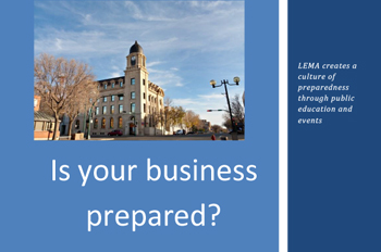 Lethbridge Emergency Management Plan