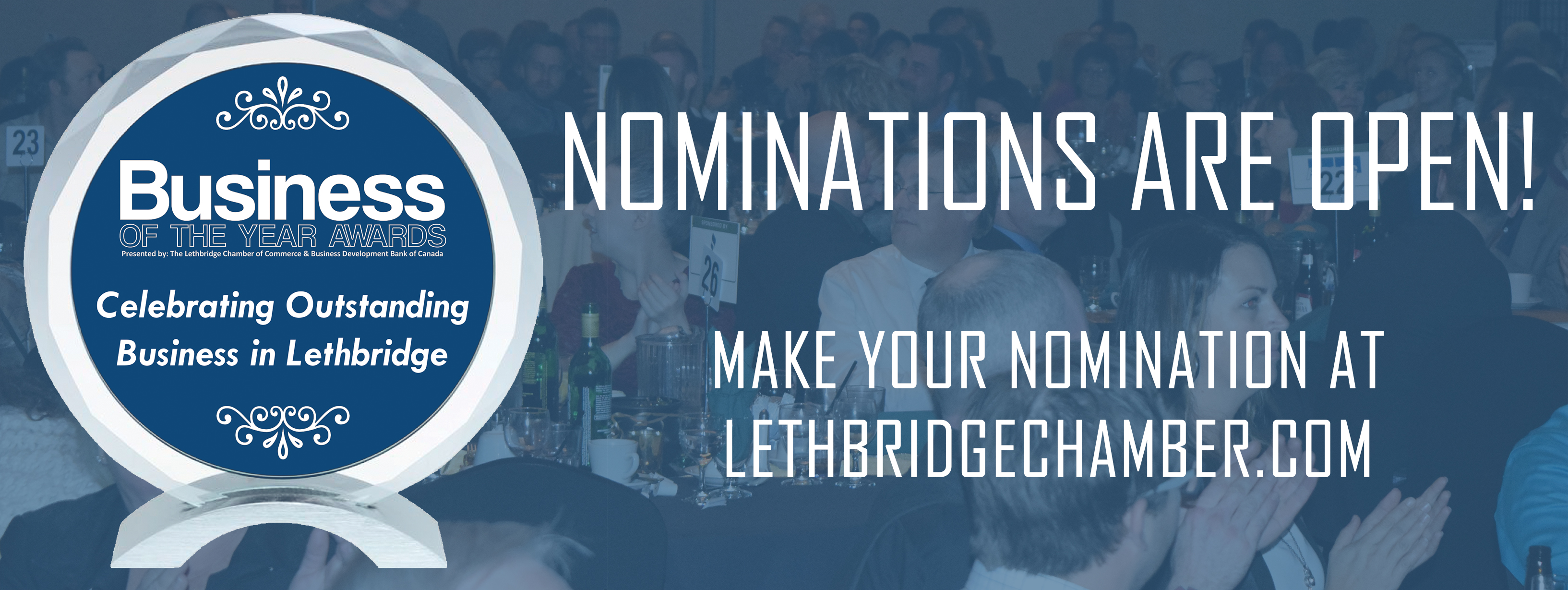 Business of the Year Awards - Lethbridge Chamber of Commerce, AB