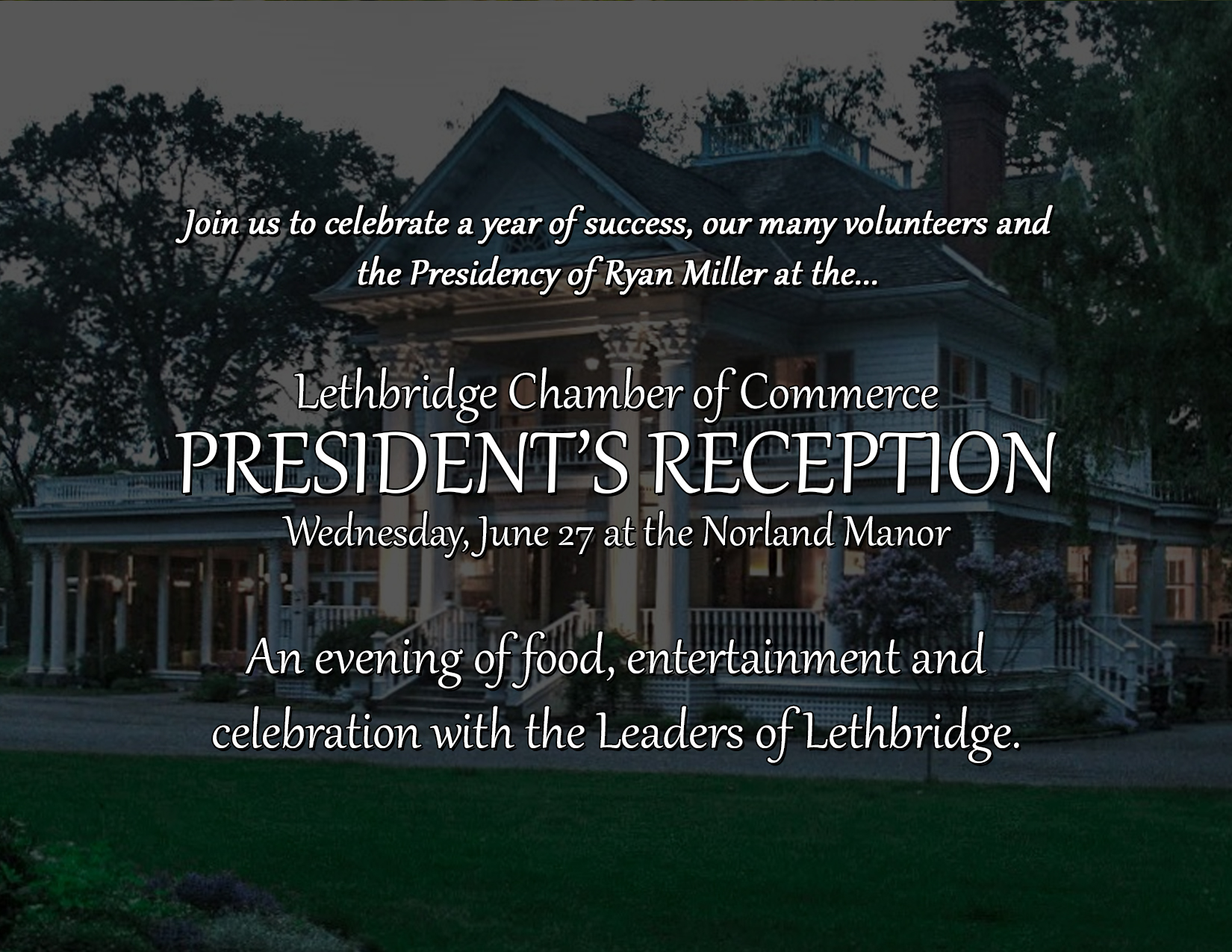 President's Reception