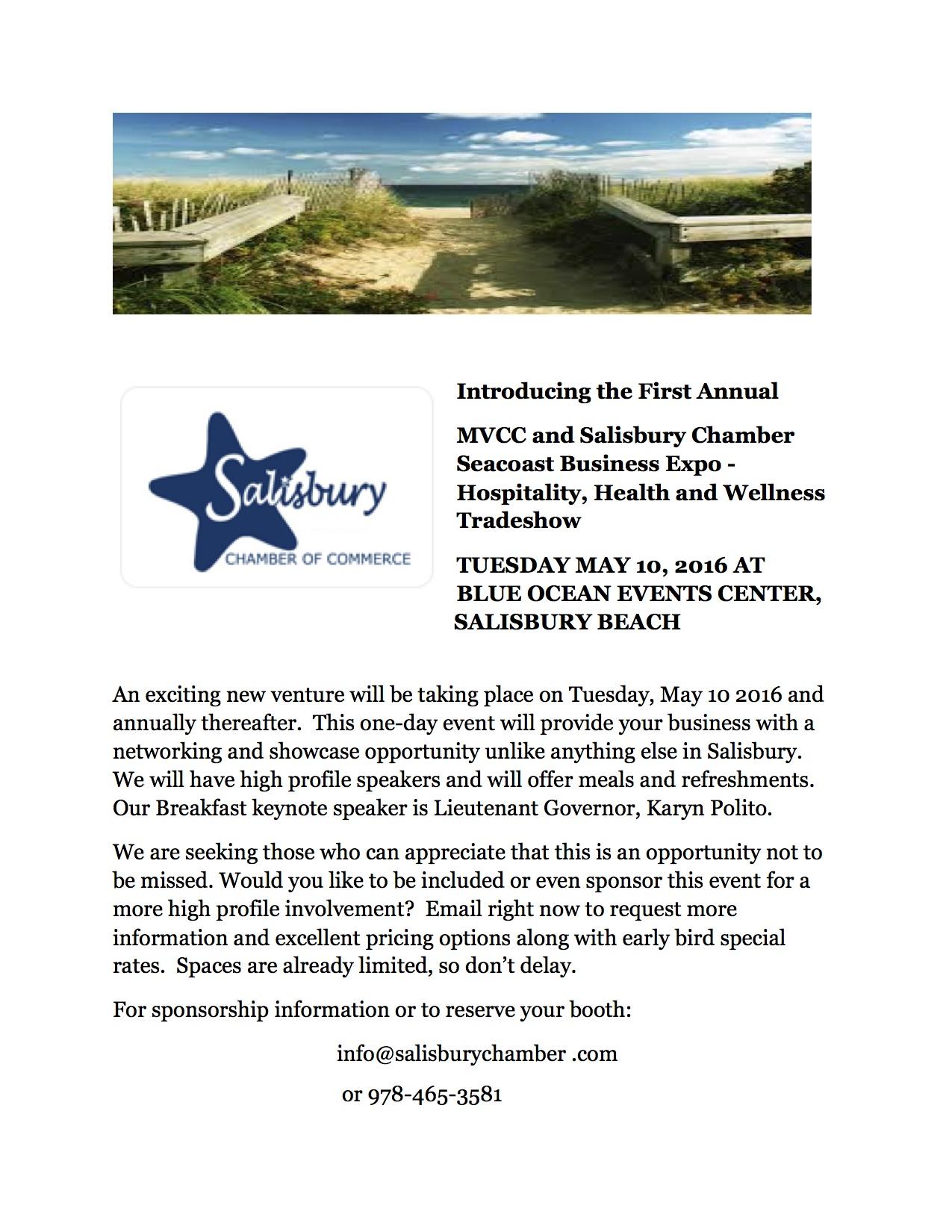Seacoast Business Expo - Hospitatlity, Heath and Wellness Tradeshow
