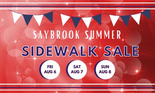 Saybrook Summer Sidewalk Sale