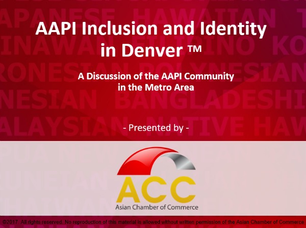 AAPI Inclusion and Diversity Training