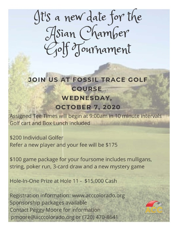 2020 ACC Golf Tourney with $15K Prize