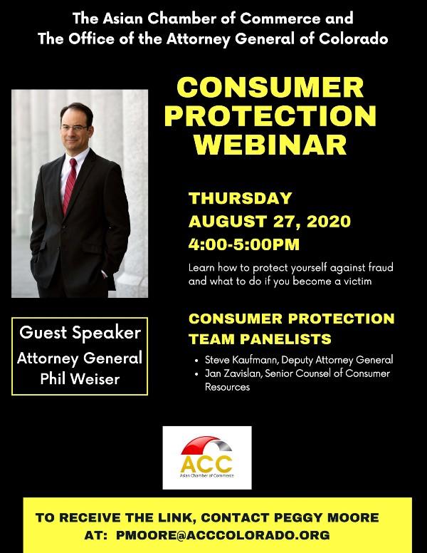 Consumer Protection Webinar