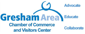 Gresham Area Chamber of Commerce and Visitors Center Logo