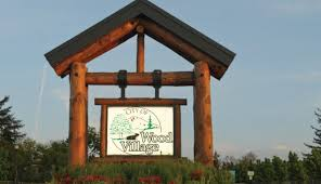 Wood Village Sign