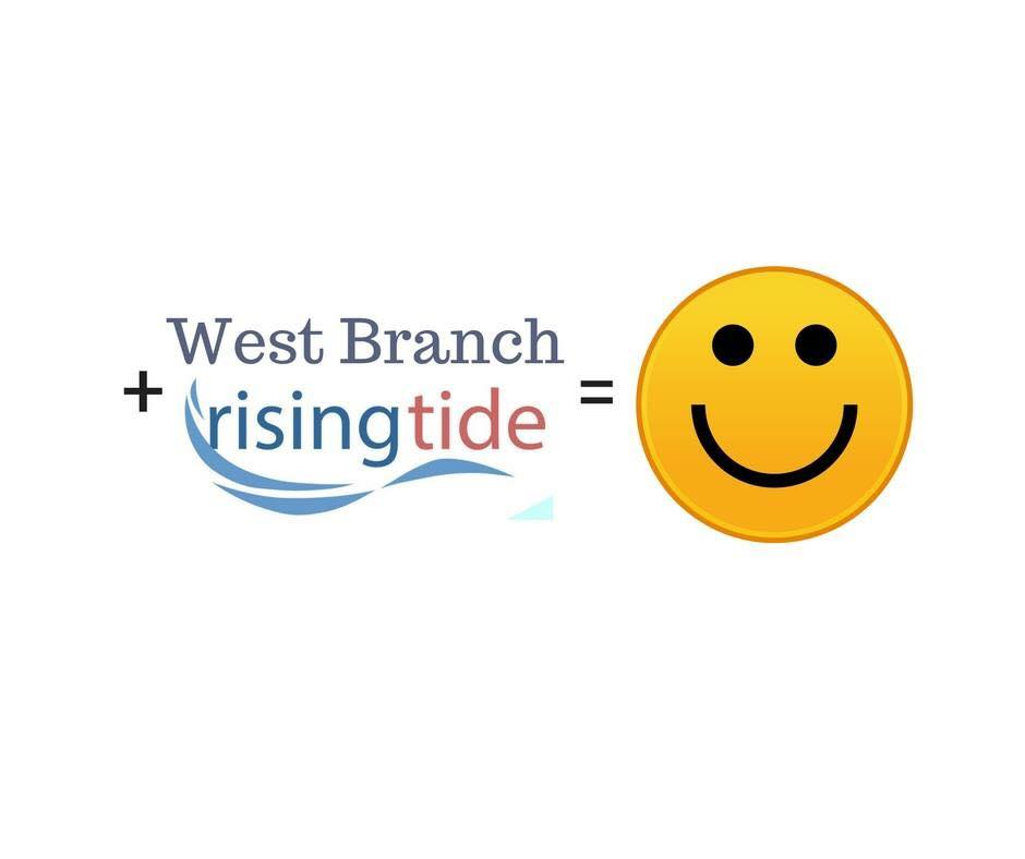 West Branch has been selected a Rising Tide Community. Please follow this website for updates and happenings. http://mirisingtide.org/westbranch/