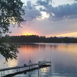 July Winner - Sunset Lake Image
