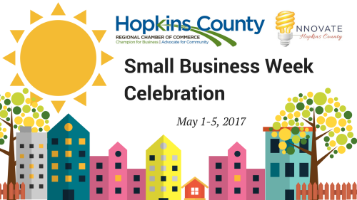 Learn about our Small Business Week celebration, May 1-5, 2017!