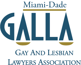 Gay and Lesbian Lawyer Association (GALLA) logo