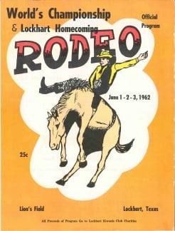 Rodeo - Lockhart Chamber of Commerce, TX