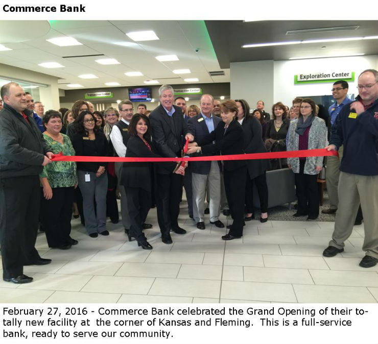 Commerce Bank Ribbon Cutting