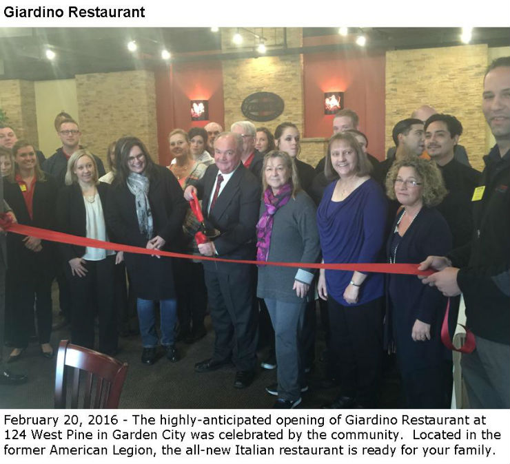 Giardino Ribbon Cutting