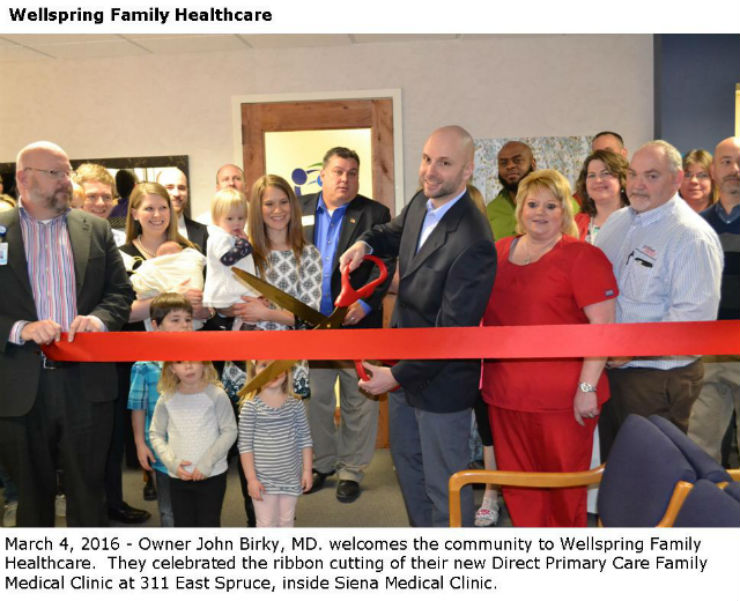 Wellspring Ribbon Cutting