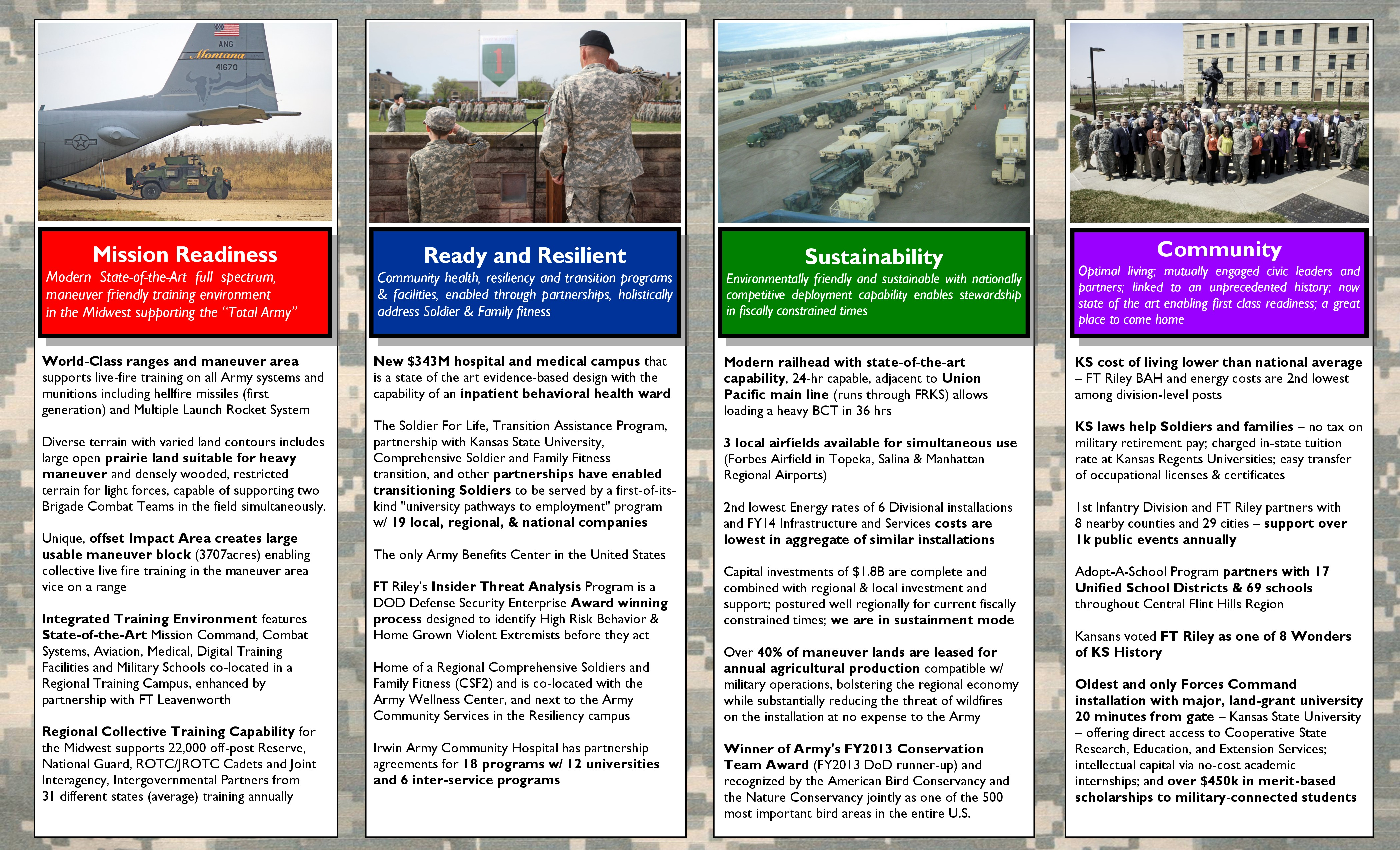 Fort RIley Brochure pg 2