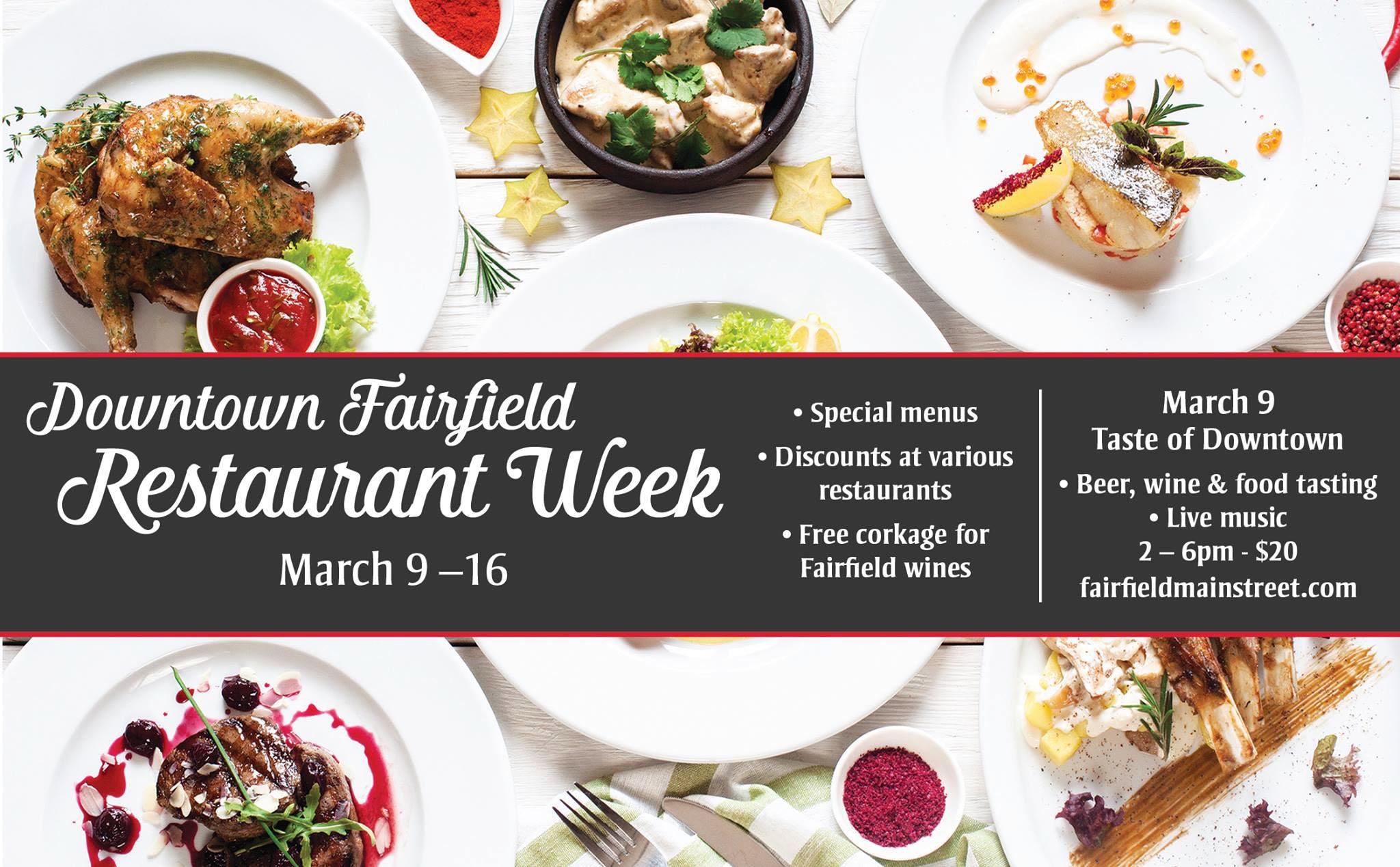 downtown-fairfield-restaurant-week-2019