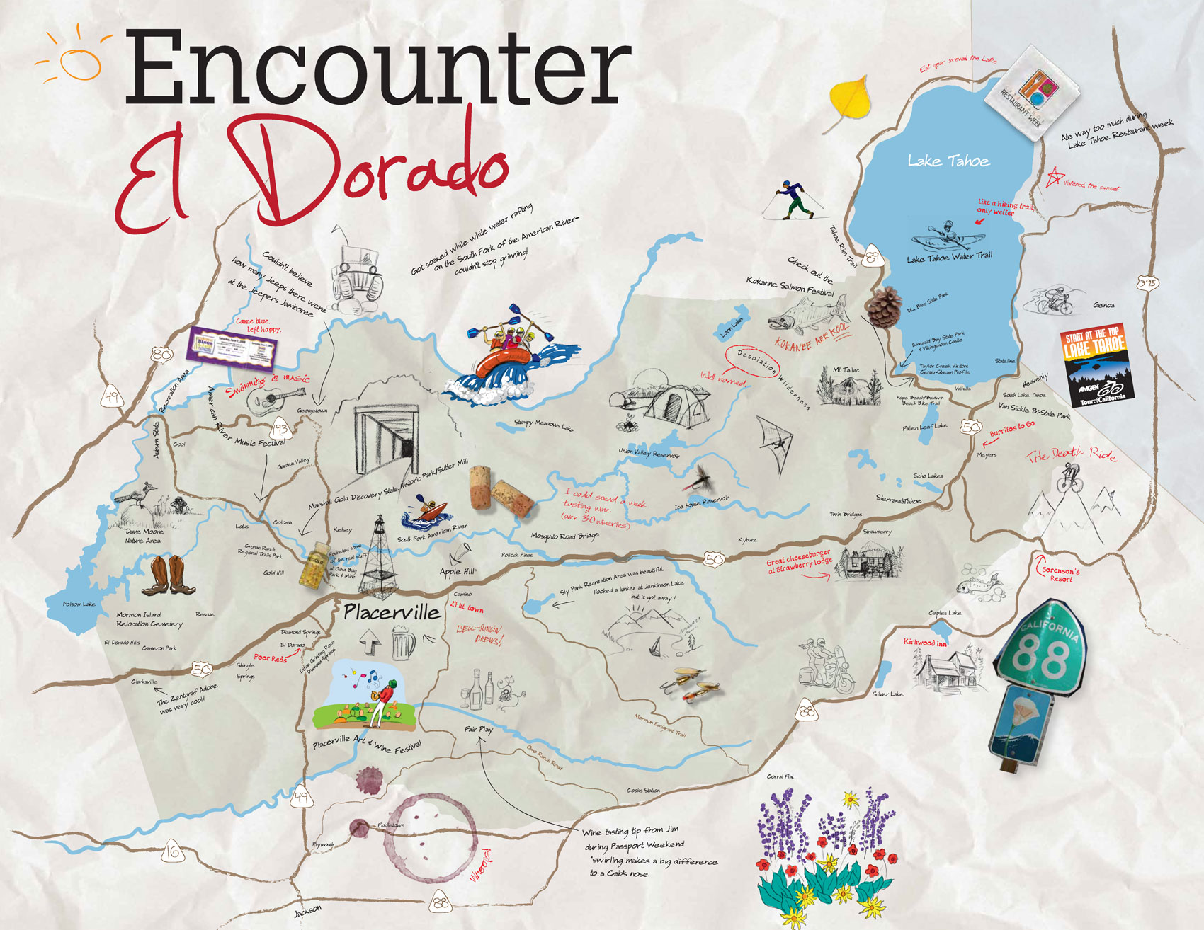 El Dorado County GeoTourism Map