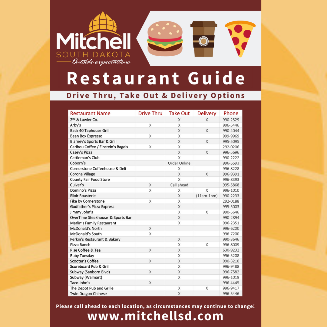 Take Out Restaurant Options