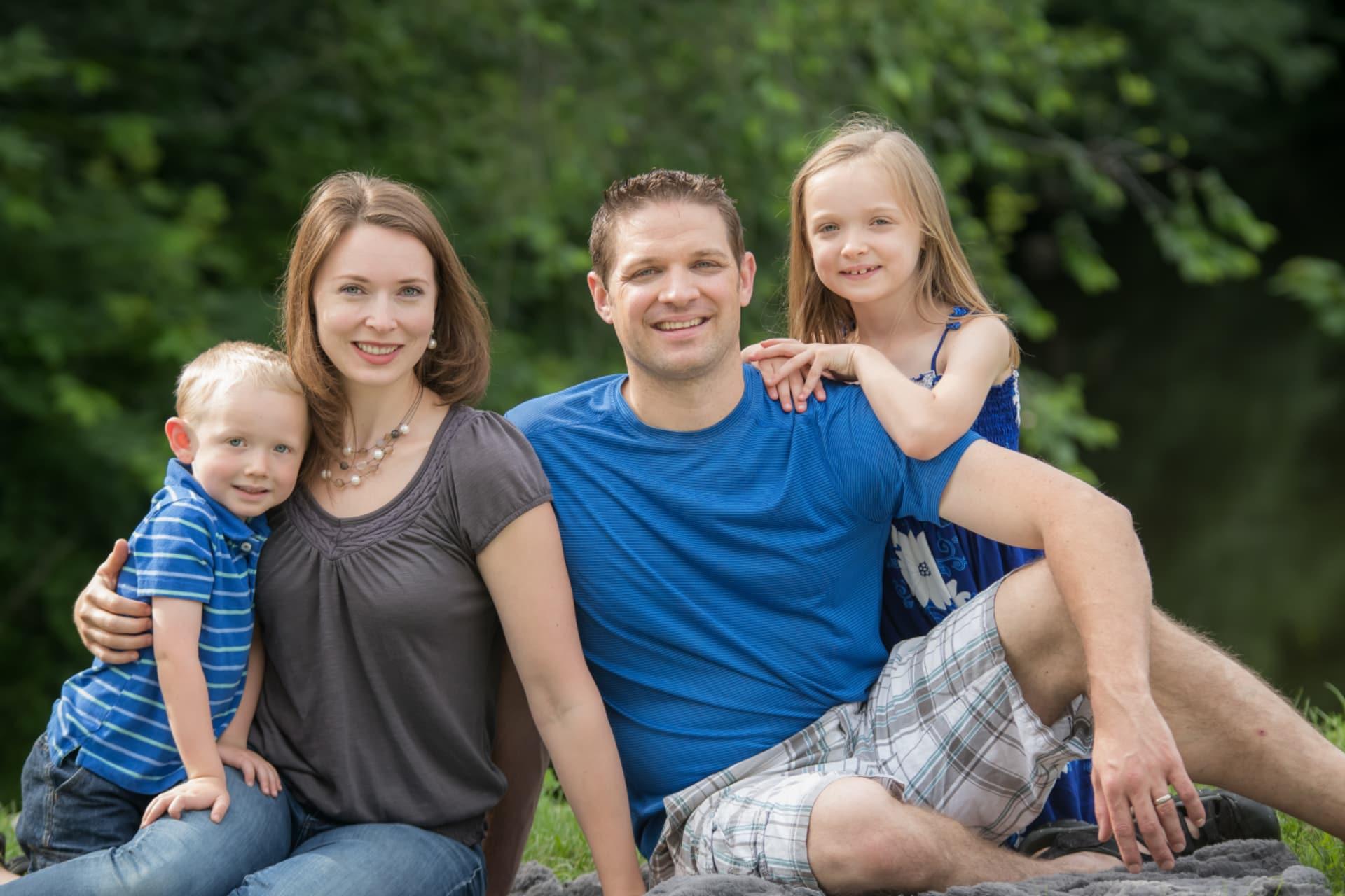 The Zajic family of Mitchell - Photo by Krista Citrowske Photography
