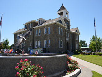 Historic Wallowa County Courthouse, Enterprise, Oregon