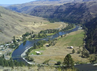 View of Troy and the Grande Ronde River
