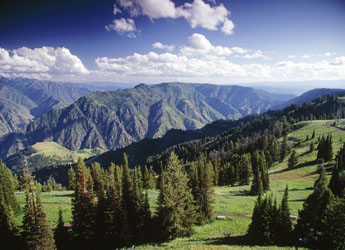 Beautiful Views of Hells Canyon
