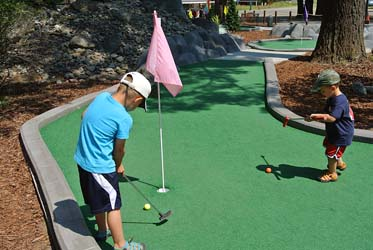 Mt. Pines Adventure Golf, Matterhorn Village