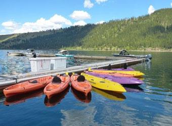 Wallowa Lake Marina, boat rentals
