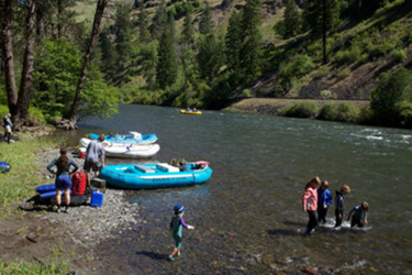 Rafting the Minam & Wallowa Rivers