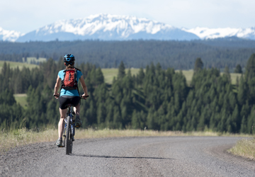Biking in the Beautiful Wallowa Country