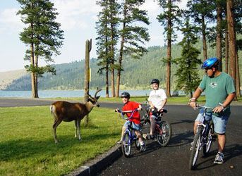 Wallowa Lake State Park, Year round camping