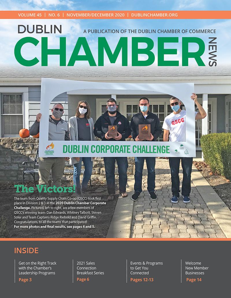 November December 2020 Dublin Chamber News