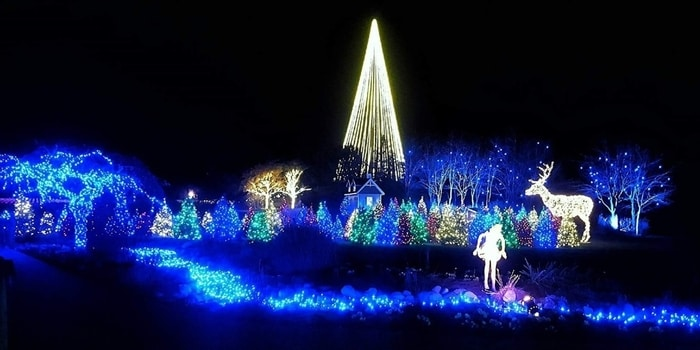 Christmas Lights In Utah Valley