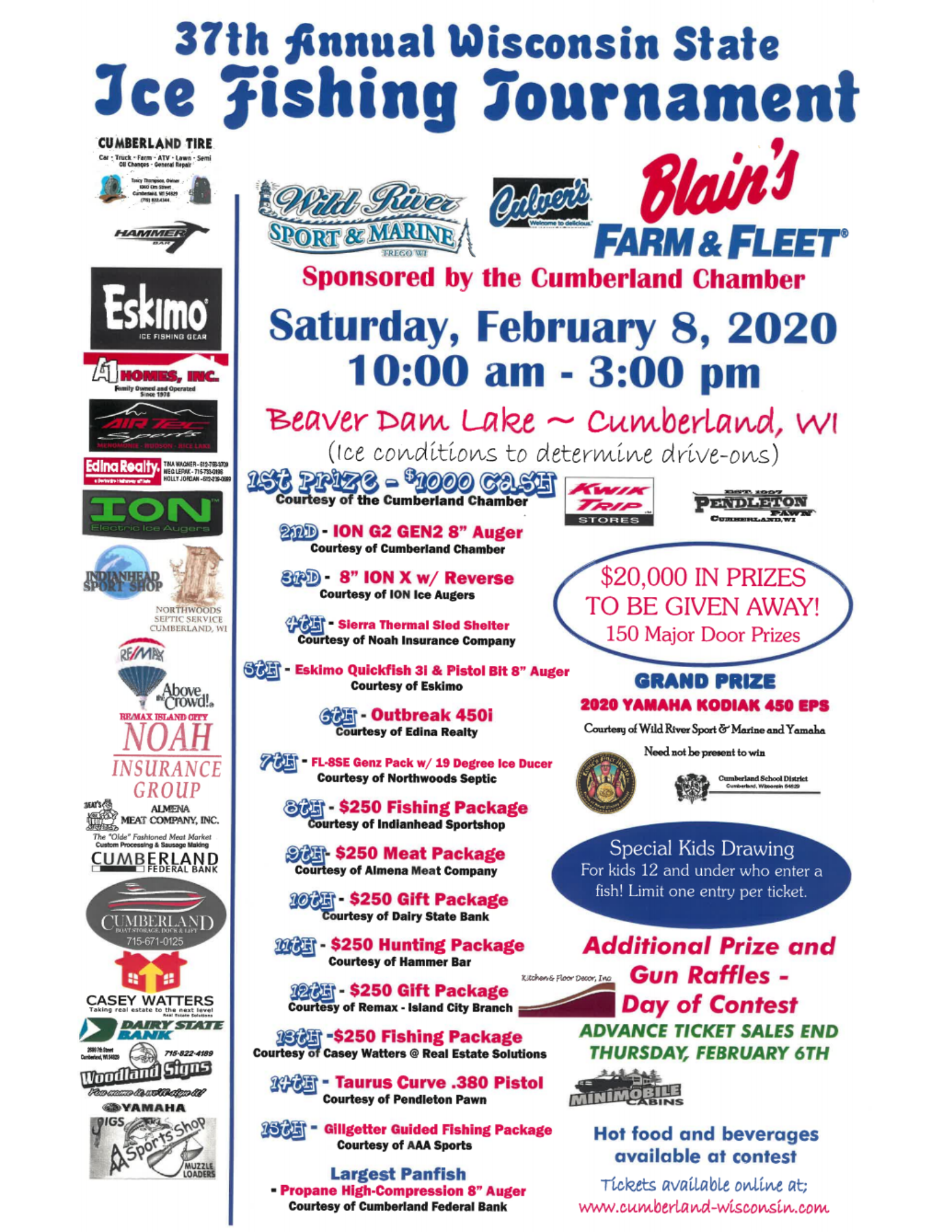 2020 Wisconsin Ice Fishing Contest