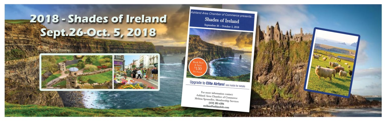 Shades of Ireland Trip Sept. 26-Oct.5, 2018