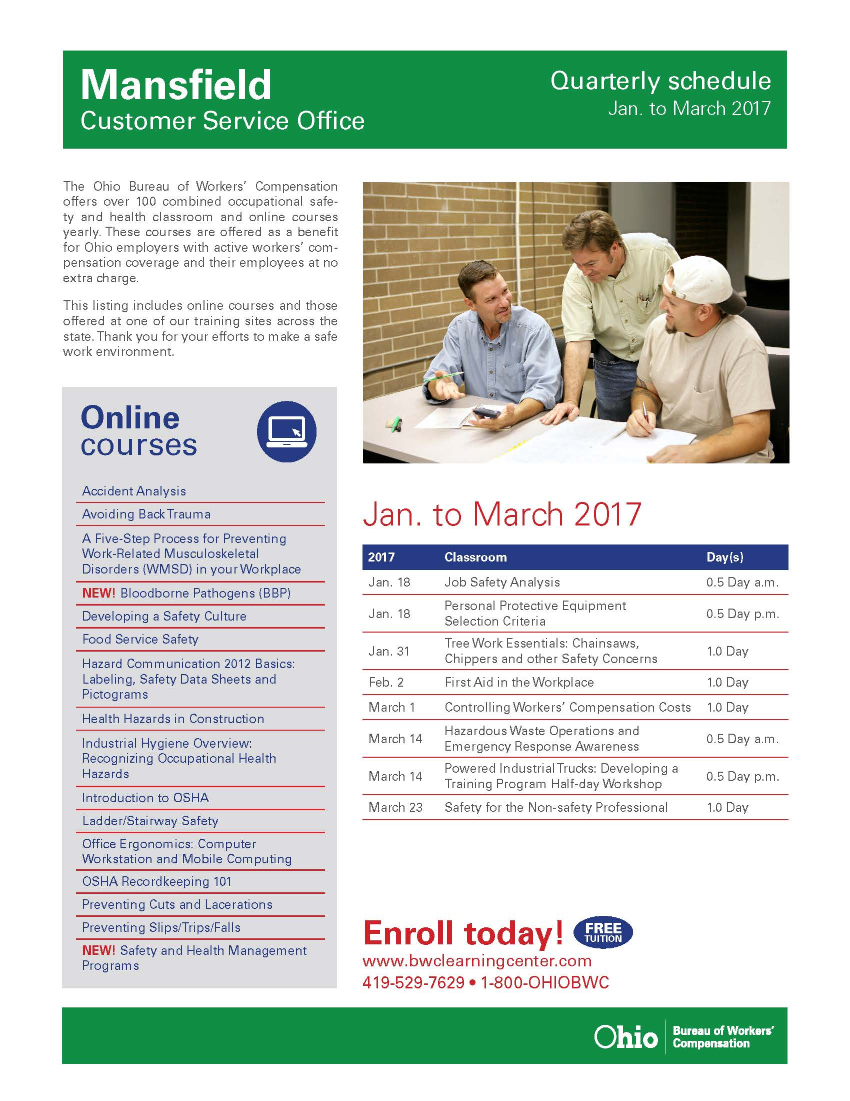 Mansfield-quarterly_January-March 2017